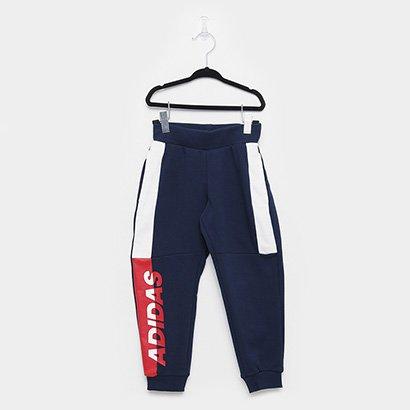 Calça Infantil Adidas Ft Kn Lb Masculina