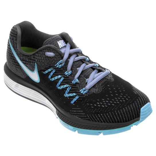 newest affce 50c61 Tênis Nike Air Zoom Vomero 10 - Chumbo+Azul Claro