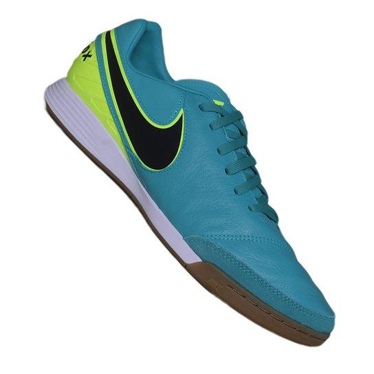 Tenis Nike Tiempox Mystic V Ic - Verde Limão+Azul cb50930156c60