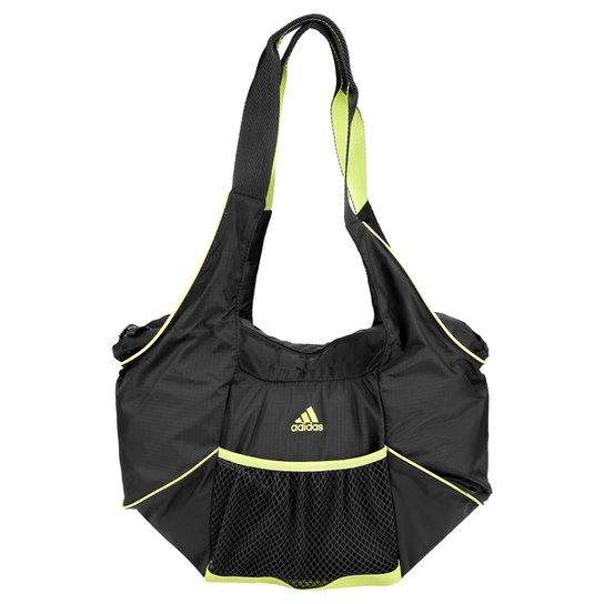 9b2160b68 Bolsa Adidas Shoulder Perf ESS - Chumbo+Verde