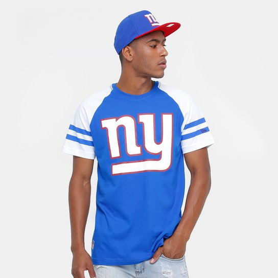 Camiseta New Era NFL Logo New York Giants - Compre Agora  d57a1b49cc3bf