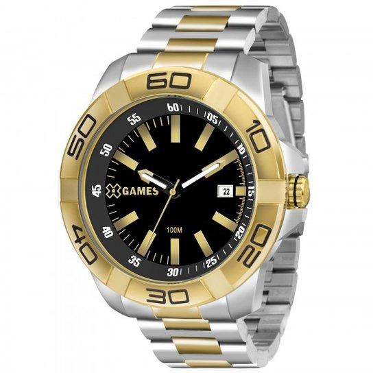 2a2bd9dc19f Relógio XGames XMTS1001 P1SX - Prata e Dourado - Compre Agora