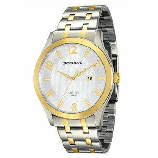 a75cffecc88 Relógio Seculus Masculino Long Life - 23531GPSVBA1