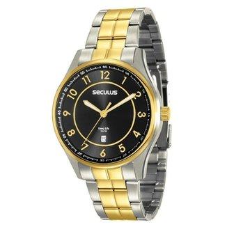 63769658131bd Relógios Seculus Masculinos - Melhores Preços   Netshoes