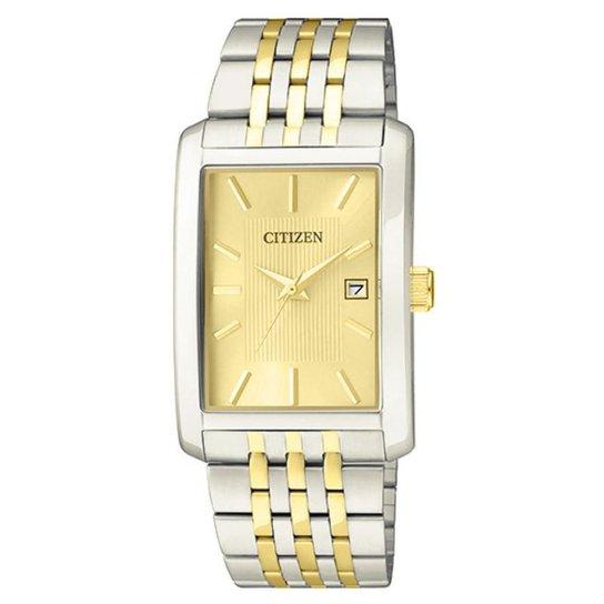 6296c7cb4b5 Relógio Citizen Masculino Gents - TZ20546X - Prata e Dourado ...