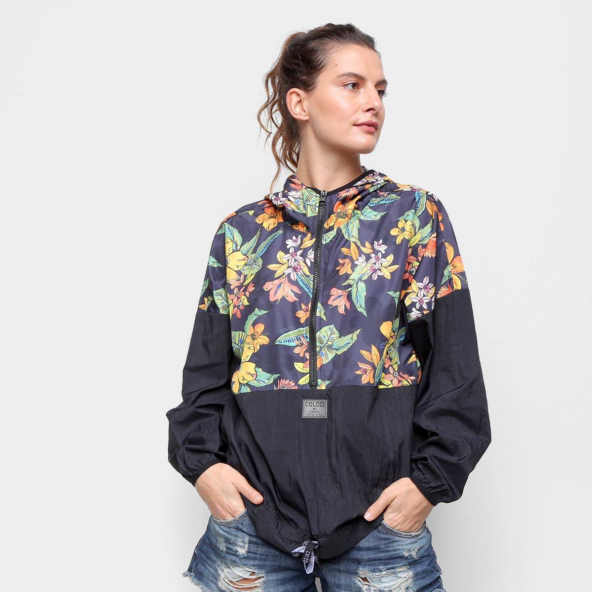 Blusão Colcci Floral Brasilis Feminino