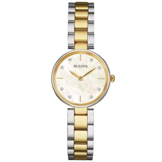 ae14e88fee8 Relógio Bulova Diamond WB26119S - Compre Agora