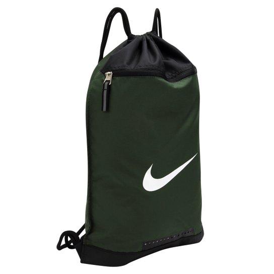 232c62c4e Sacola Nike Team Training DS - Verde escuro