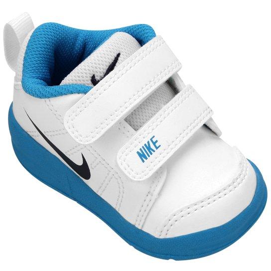 a1583cafd7d67 Tênis Nike Pico LT TDV Infantil - Branco+Azul Piscina