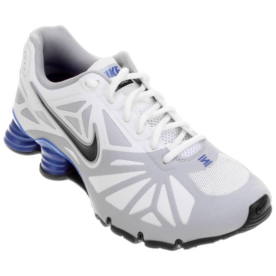 huge selection of e4e42 af751 Tênis Nike Shox Turbo 14 - Branco+Azul