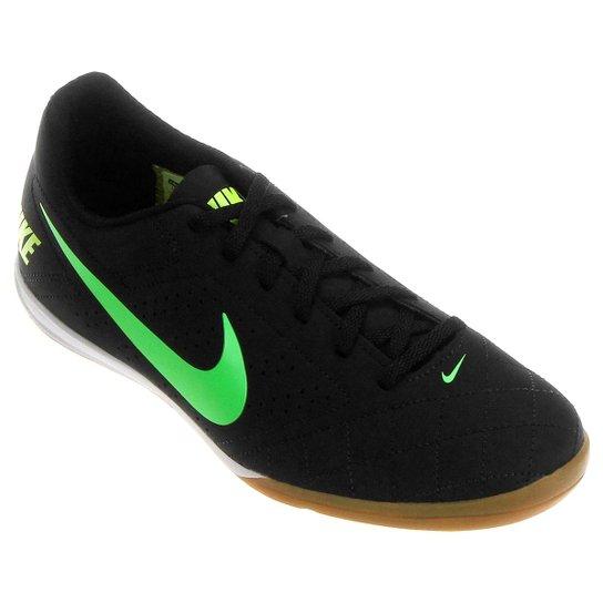 e51af1808cdc7 Chuteira Futsal Nike Beco 2 Futsal - Preto e Verde Limão | Netshoes