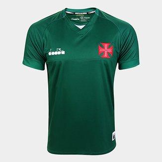 86ca4810e3 Camisa de Goleiro Vasco I 19 20 s n° - Torcedor Diadora Masculina