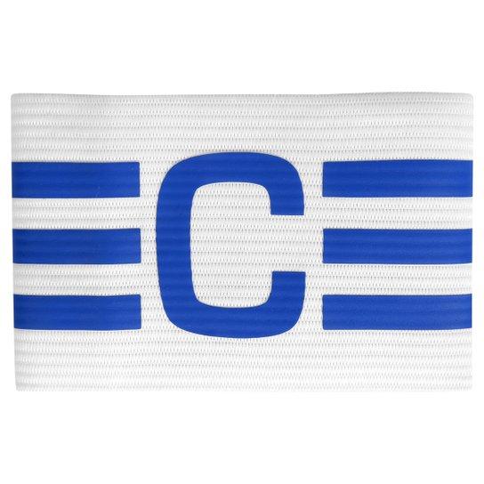 ba4eb546aab8d Faixa de Capitão Adidas - Branco+Azul