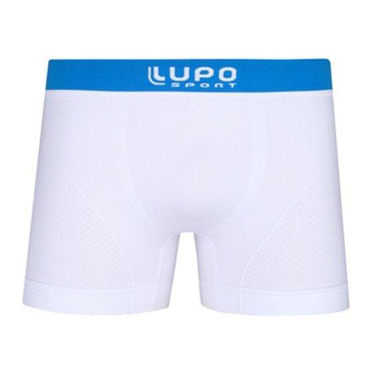 ef377cc47 Cueca Boxer Lupo Microfibra Sem Costura - 543-004 - Branca - Branco+Azul