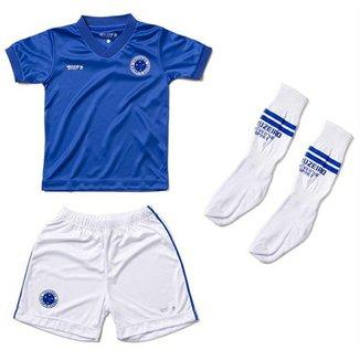 Malha Dry Uniforme Campo Menino Cruzeiro Reve Dor - 1 Ano d1c63ce2e9113