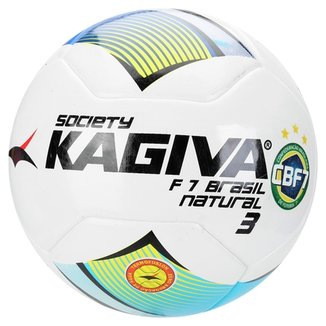 b6997b57ed Bola Kagiva F7 Brasil Natural Nº 3 Society