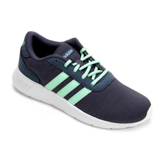 3cf270d91 Tênis Adidas Lite Racer W Feminino - Marinho e Verde | Netshoes