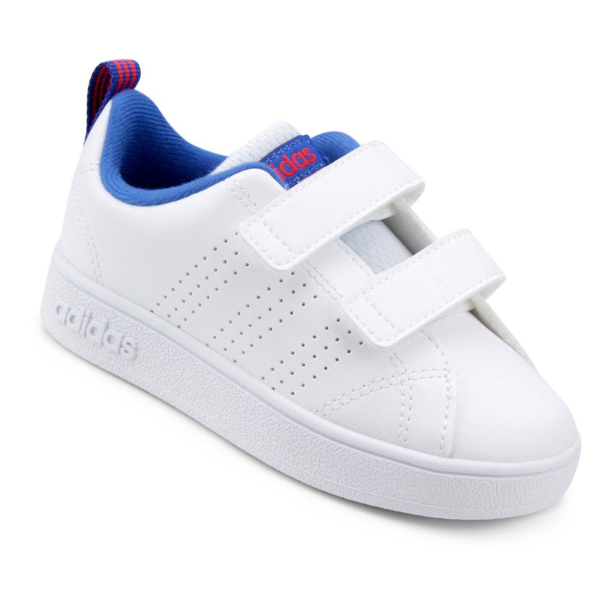 0055ad9bc Tênis Infantil Adidas Vs Advantage Clean Masculino