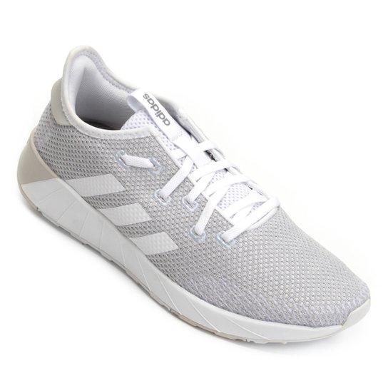 0cfaece58b6 Tênis Adidas Questar X Byd Feminino - Branco e Azul - Compre Agora ...