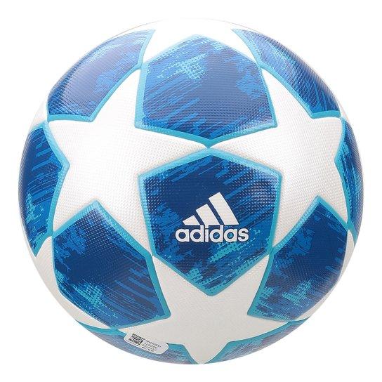 Bola de Futebol Society Adidas UCL Finale 18 - Branco e Azul ... 6e71c635a5293