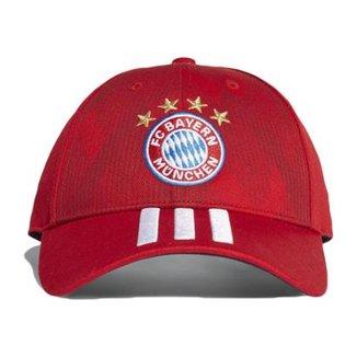 02c4858e7f Boné Adidas Bayern de Munique 3Stripes Aba Curva
