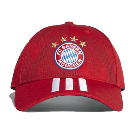 Boné Adidas Bayern de Munique 3Stripes Aba Curva - Compre Agora ... b9423c819947f