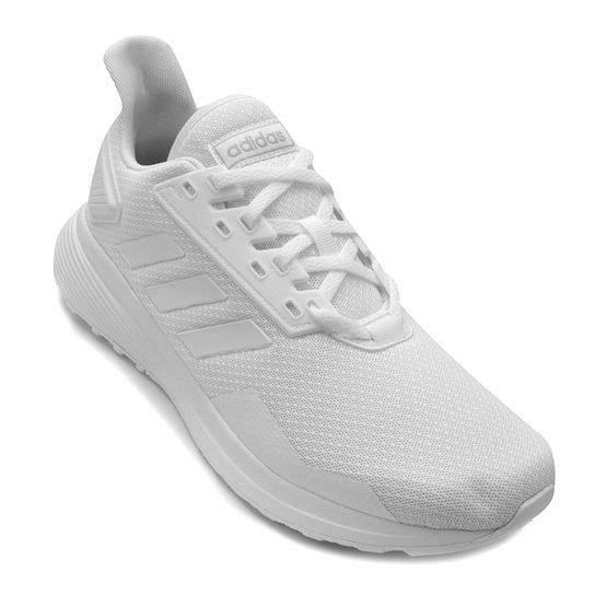 540570d433c Tênis Adidas Duramo 9 Masculino - Branco e Grafite - Compre Agora ...
