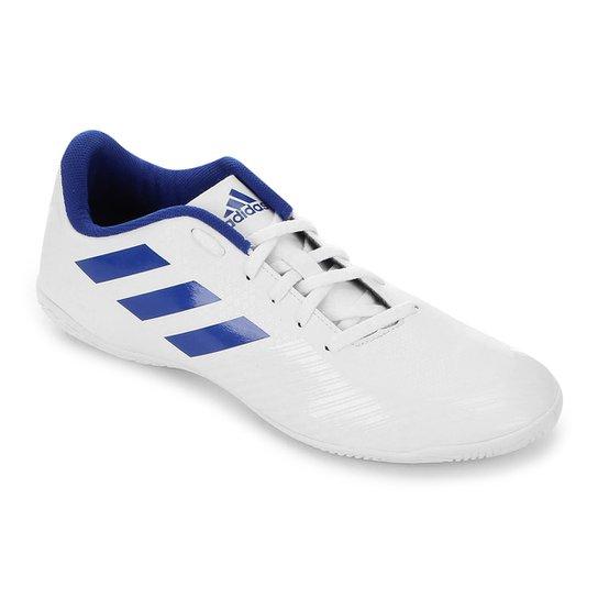 293d82deec Chuteira Futsal Adidas Artilheira III IN - Branco e Azul