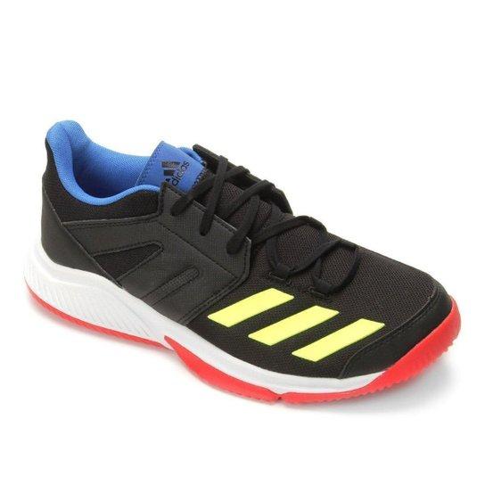 4a5e9751a72 Tênis Adidas Stabil Essence Masculino - Preto e verde - Compre Agora ...