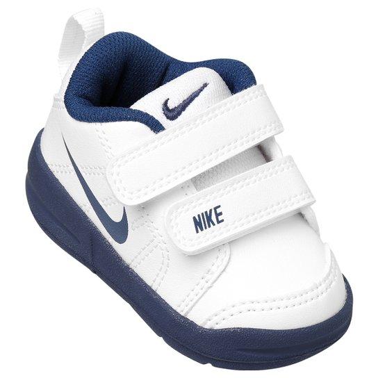 Tênis Infantil Nike Pico Lt Masculino - Branco e Marinho - Compre ... a62075cdf4283