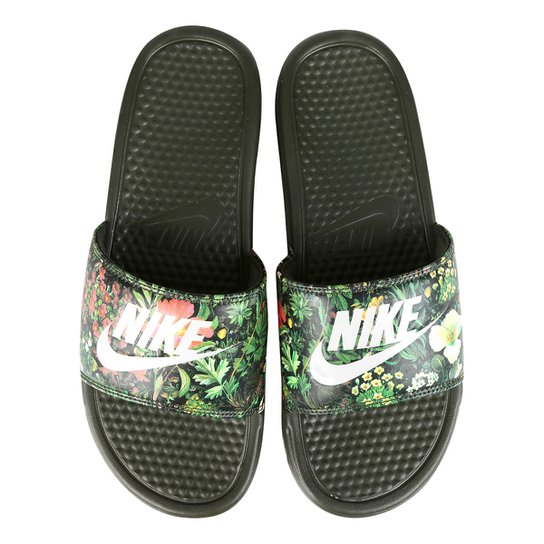 a6cf5fbb27 Sandália Nike Benassi Jdi Print Feminina - Compre Agora