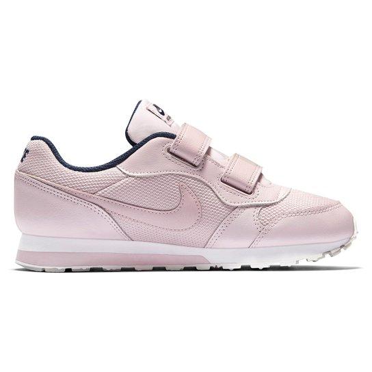 831428f755f Tênis Infantil Nike Md Runner 2 Feminino - Rosa e Azul - Compre ...