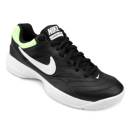 low priced 94204 0ef68 Tênis Nike Court Lite Masculino - Preto+verde