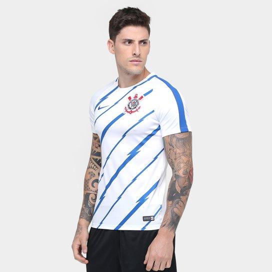 Camisa de Treino Corinthians Pre Match Nike Masculina - Compre Agora ... fec1a21466800