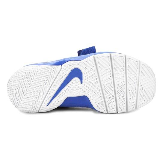 80a8accd05c Tênis Infantil Nike Team Hustle D 8 Masculino - Azul Royal e Preto ...
