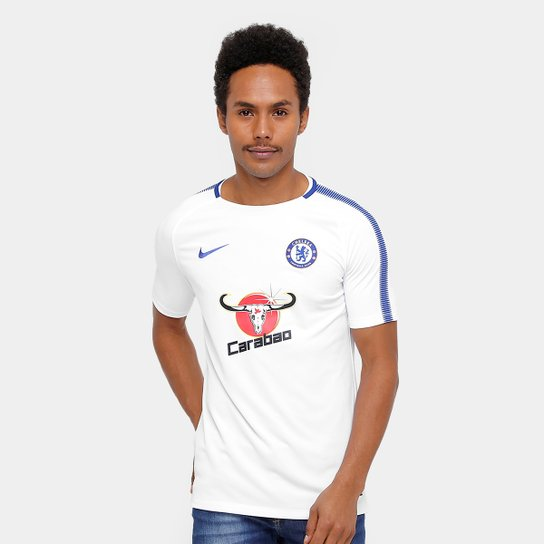 Camisa Chelsea Squad Top Nike Masculina - Compre Agora  31e93961624a7