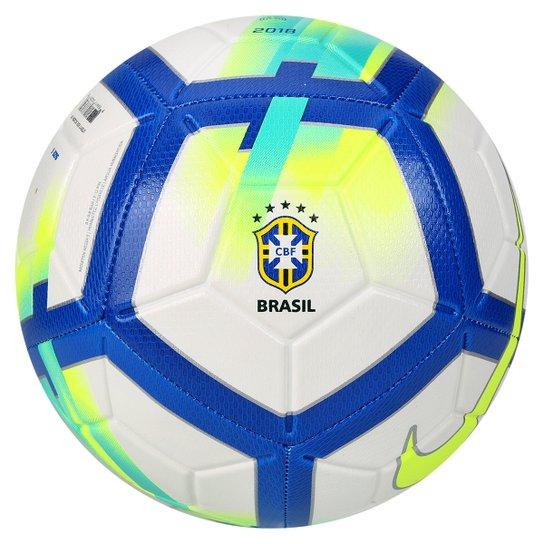 334eac7dab Bola Campo CBF Nike Strike - Branco e Azul - Compre Agora