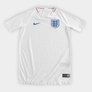 Camisa Seleção Inglaterra Juvenil Home 2018 s n° Torcedor Nike 8fa04a5ee5185