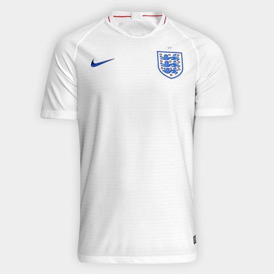 6b5b672527 Camisa Seleção Inglaterra Home 2018 s n° Torcedor Nike Masculina - Branco