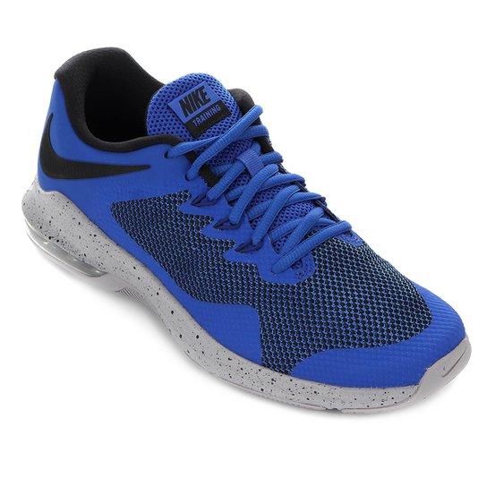 info for 3d0e8 b5f08 Tênis Nike Air Max Alpha Trainer Masculino - Azul Royal e Preto ...