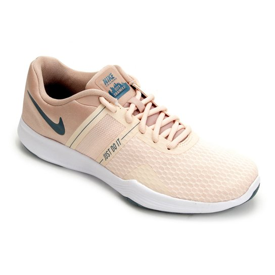 f45d84b0fd Tênis Nike City Trainer 2 Feminino - Bege e Verde