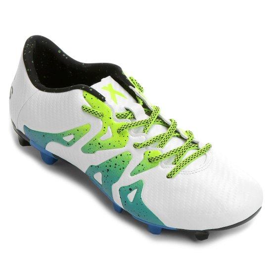 Chuteira Adidas X 15.3 FG Campo - Compre Agora  34971af5bd372