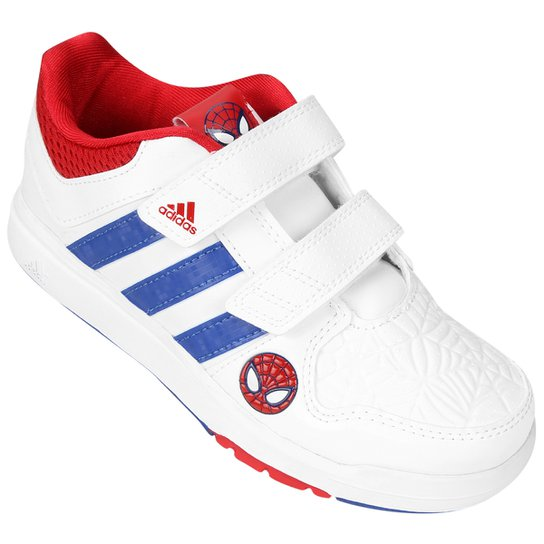 b2385304ae6 Tênis Adidas Lk Spider Man Cf C Infantil - Compre Agora