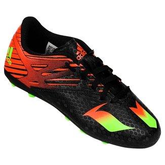 a89340b77f379 Chuteira Adidas Messi 15 4 FXG Campo Juvenil