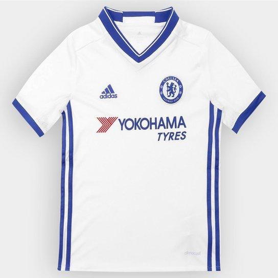 f5a01098e66ae Camisa Chelsea Infantil Third 16 17 s nº - Torcedor Adidas - Compre ...