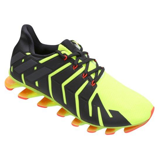 56808d1f240 Tênis Adidas Springblade Pro Masculino - Preto e verde - Compre ...
