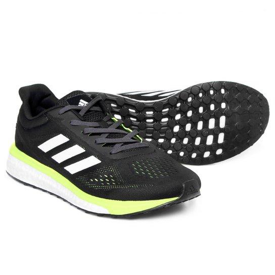 e3b739c26d Tênis Adidas Response Boost LT Masculino - Preto+Verde Limão