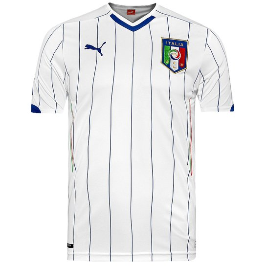 Camisa Puma Italia Away 747205 - Compre Agora  dcc2342d0fdc2