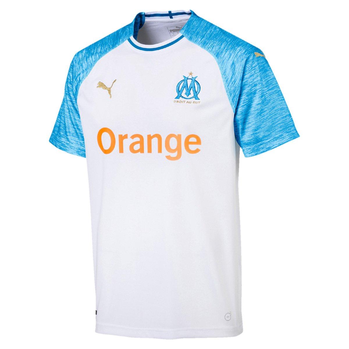 d4ecf3985 Camisa Olympique de Marseille Home 18/19 s/n° - Torcedor Puma Masculina