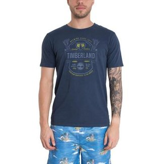 db4387320887f Camiseta Timberland Masculina Brewers
